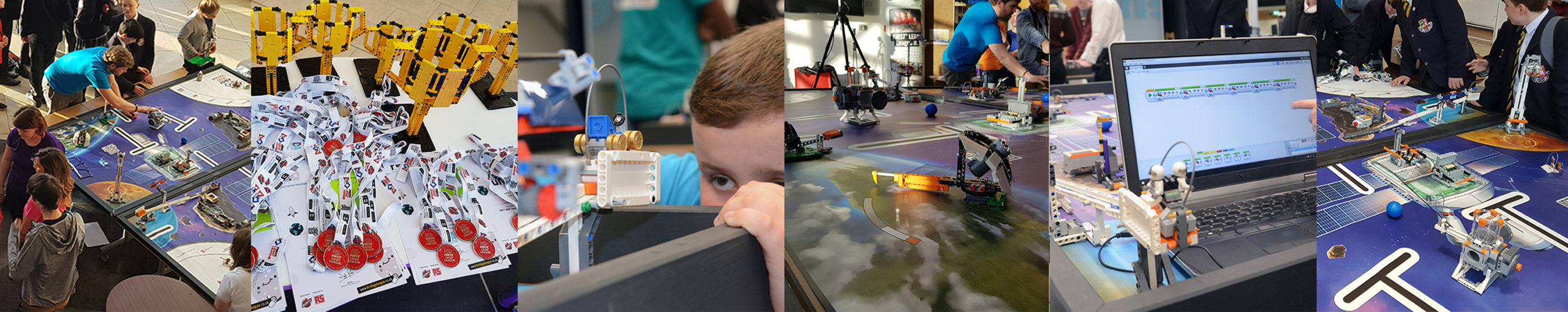 The IET FIRST LEGO League photo mix