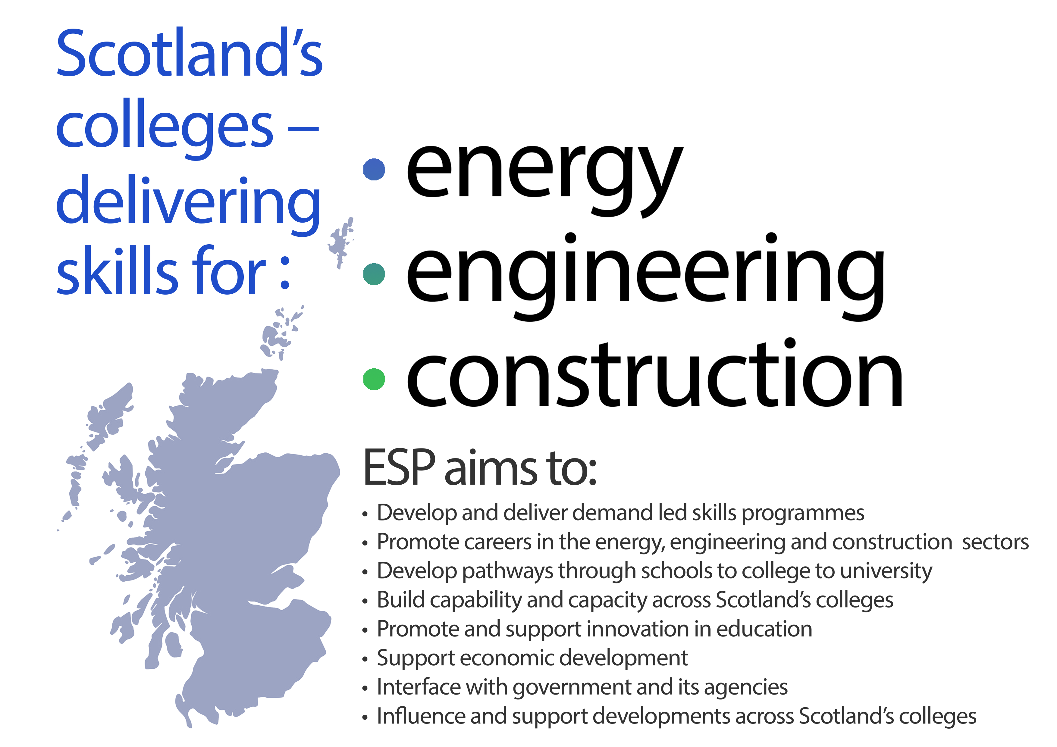 Scotland's colleges – delivering skills for the energy
