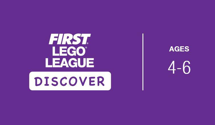 First Lego League discover logo
